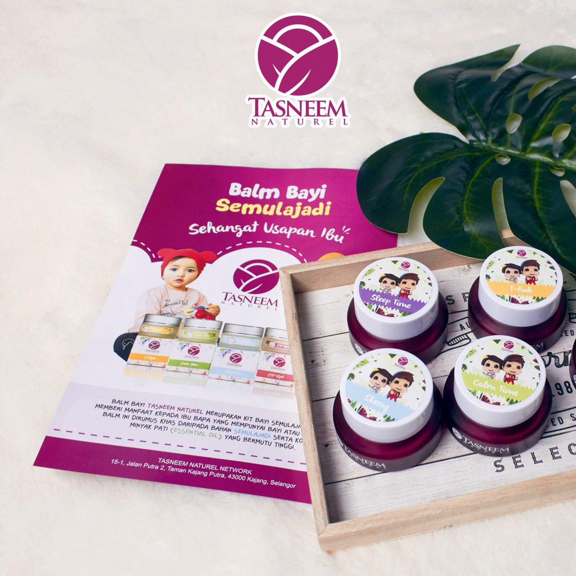 Balm Tasneem Naturel